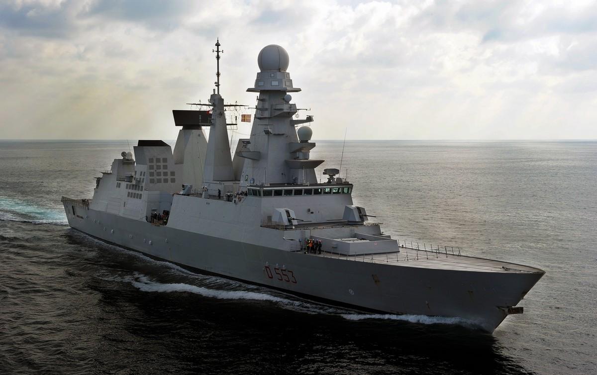 RAS with the ITS Andrea Doria 17-10-2011